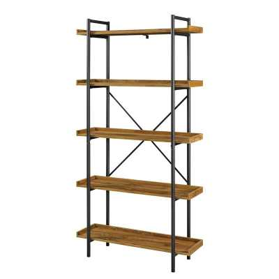 Swindell Etagere Bookcase / Barnwood - Wayfair