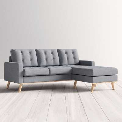 Roy Reversible Sectional - Wayfair