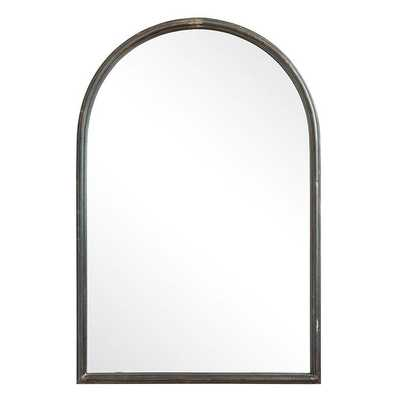 DISTRESSED IRON ARCH MIRROR - Shades of Light