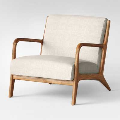 Esters Wood Arm Chair Husk - Project 62, Millbrook Husk - Target