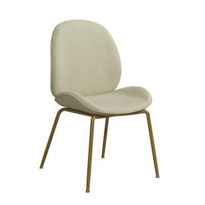 Astor Velvet Upholstered Side Chair - Wayfair