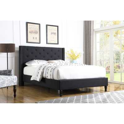 Boswell Upholstered Platform Bed - Wayfair