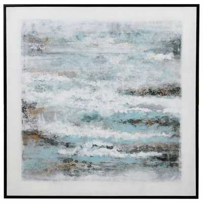 ABOVE THE CLOUDS HAND PAINTED CANVAS - Hudsonhill Foundry