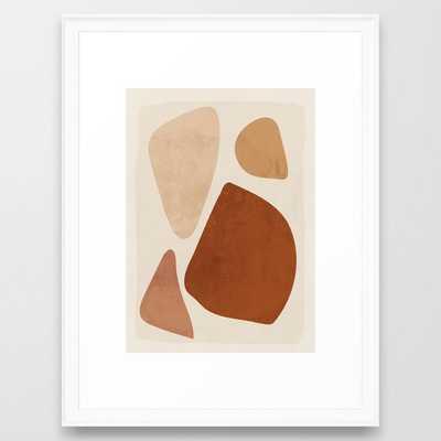 Abstract Shapes 47 Framed Art Print - Society6