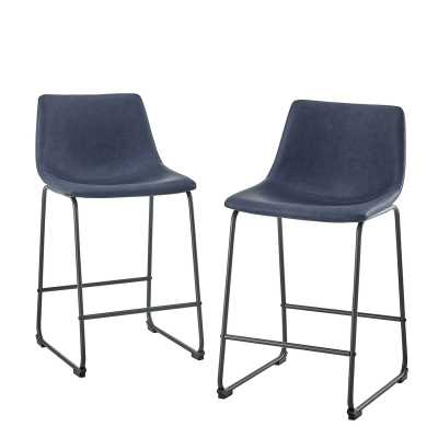 Mary-Kate Counter Stool (set of 2) - Wayfair