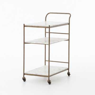 Felix Rectangular Bar Cart - Burke Decor