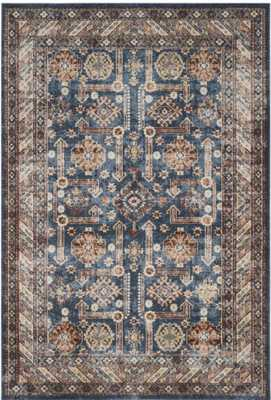 Isanotski Brown/Blue Area Rug - Wayfair