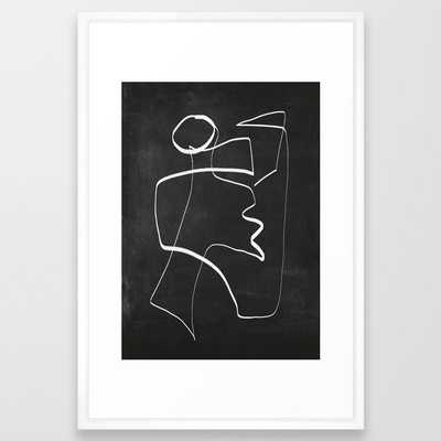 Abstract line art 6/2 Art Print - Society6