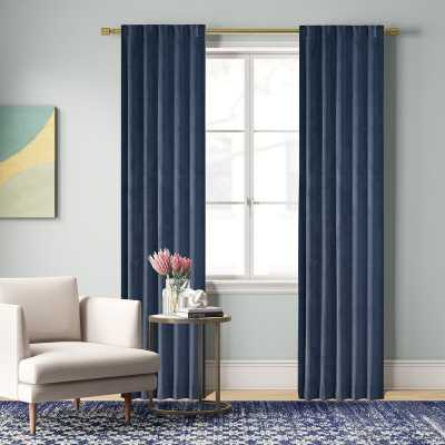 Aurora Poly Velvet Solid Color Room Darkening Rod Pocket Curtain Panels  Aurora Poly Velvet Solid Color Room Darkening Rod Pocket Curtain Panels  Aurora Poly Velvet Solid Color Room Darkening Rod Pocket Curtain Panels  Aurora Poly Velvet Solid Color Room  - Wayfair
