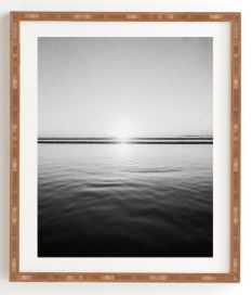 CALM SEA Framed Wall Art By Bree Madden - Wander Print Co.