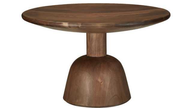 macbeth hemlock natural wood coffee table - CB2