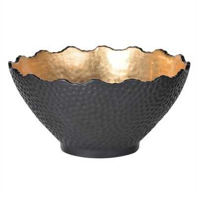 Martindale Stoneware Gilded Decorative Bowl-small - Wayfair