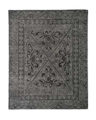 Mirabelle Rug, Pewter - 9'x12' - Serena and Lily