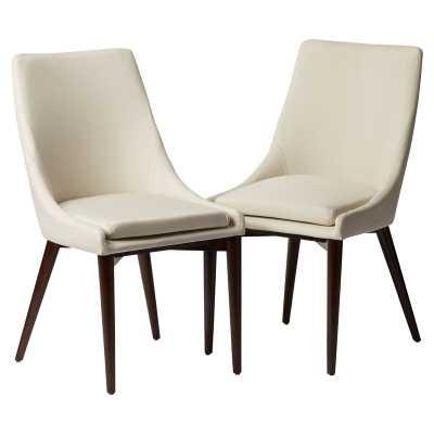 Blaisdell Linen Upholstered Dining Chair (Set of 2) - Wayfair