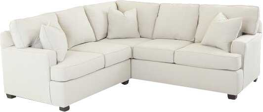Russell Left Hand Facing Farm Sectional - Wayfair
