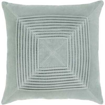 "Akira AKA-001 20"" x 20"" Pillow Cover w/Down Insert - Neva Home"