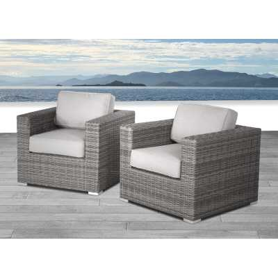 Eldora Patio Chair with Cushions - AllModern