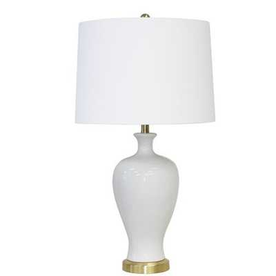 """Isla Ceramic Urn 32"""" Table Lamp - Wayfair"""