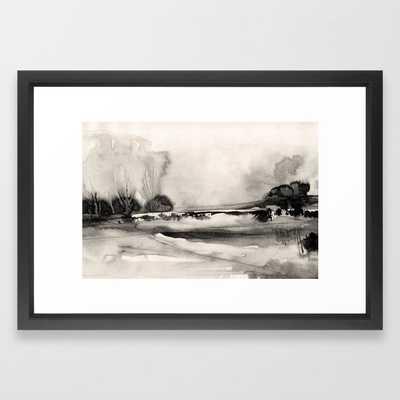 Meadow View Framed Art Print - Society6