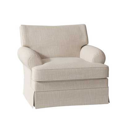 Lily Swivel Chair, Conversation Ivory - Birch Lane