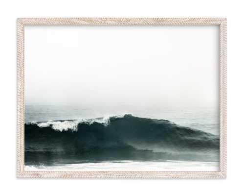 "mariner's muse - 24"" x 18"" - Whitewashed Herringbone - Minted"