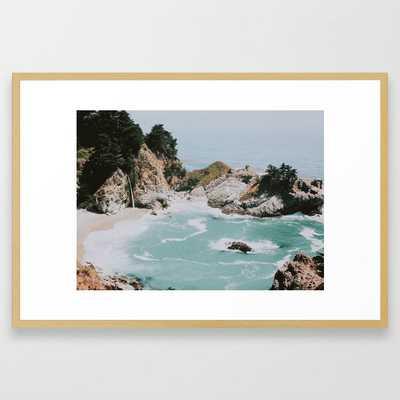 big sur / california Framed Art Print - Society6