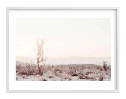 ocotillo ii - 30x40 - white frame & white border - Minted