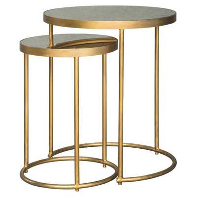 Signature Design by Ashley Majaci 2 Piece Nesting Accent End Table Set - Hayneedle