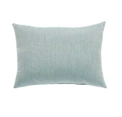 INESSA INDOOR/OUTDOOR PILLOW, LIGHT BLUE - Lulu and Georgia