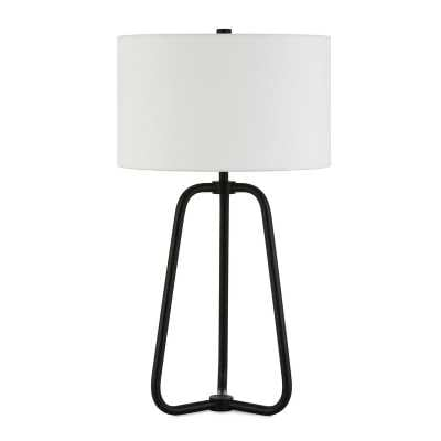 "Eric 26"" Table Lamp - Blackened Bronze Base - Wayfair"