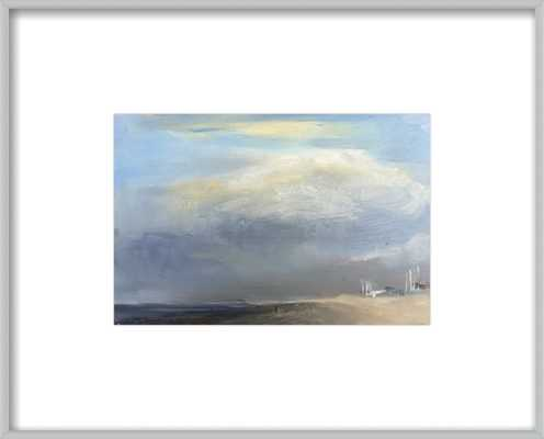 """Just before the rain - FINAL FRAMED SIZE: 15""""x12"""" - Artfully Walls"""