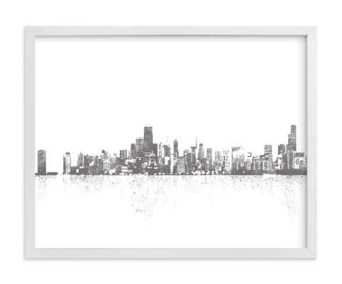chicago skyline  LIMITED EDITION ART - Minted