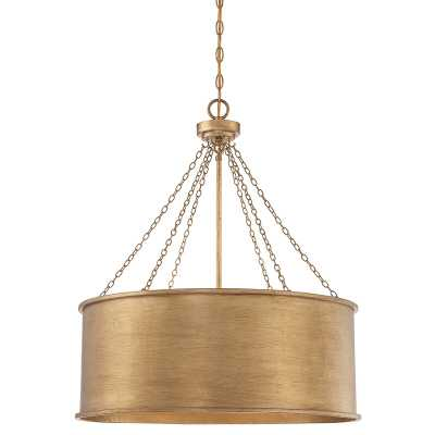 Bowe 6 - Light Shaded Drum Chandelier - Wayfair
