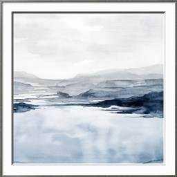 "Faded Horizon II IRONWORKS- 30"" x 30"" Premium Giclee Print - art.com"