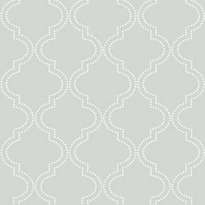 30.75 sq. ft. Grey Quatrefoil Peel and Stick Wallpaper - Home Depot