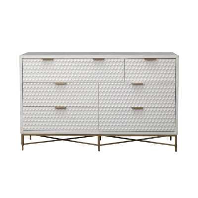 Becton 7 Drawer Double Dresser - AllModern