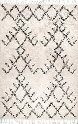 Handmade Aria Tribal Tassel Shag - Loom 23