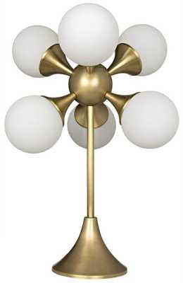 Globular Table Lamp by Noir - Burke Decor