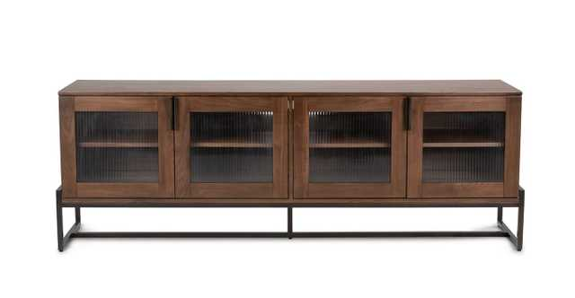 OSCURO CABINET -  BRONZE AND WALNUT - Article