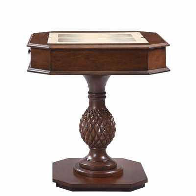 """28"""" Bishop II Chess & Backgammon Table - Wayfair"""