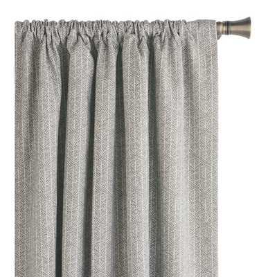 Jace Geometric Room Darkening Rod Pocket Curtain Panel - Wayfair