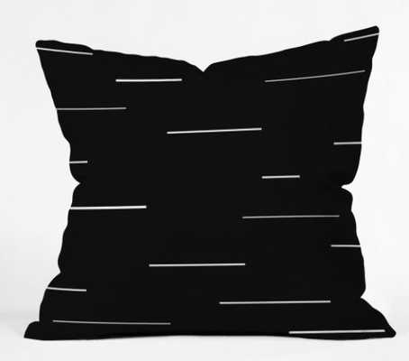 MODERN LINES V2 Throw Pillow with Insert - Wander Print Co.