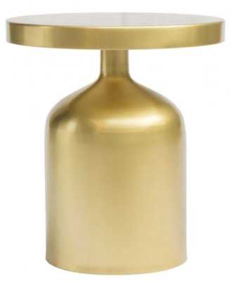 Kendal Accent Table Brass - Zuri Studios