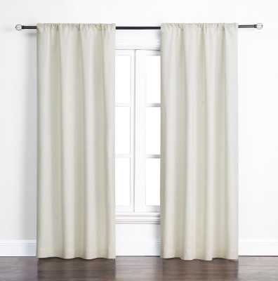 Maldanado Solid Color Room Darkening Rod Pocket Single Curtain Panel - Wayfair