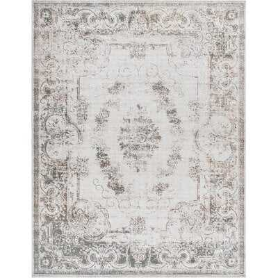 Albert Traditional Medallion Cream Area Rug- 9x12 - Wayfair