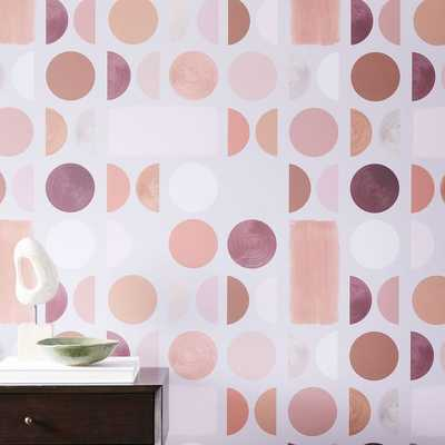Drop It Modern NOVA Wallpaper, Frances - West Elm