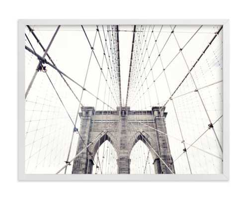 a classic - 24x18 - white frame - standard - standard - Minted