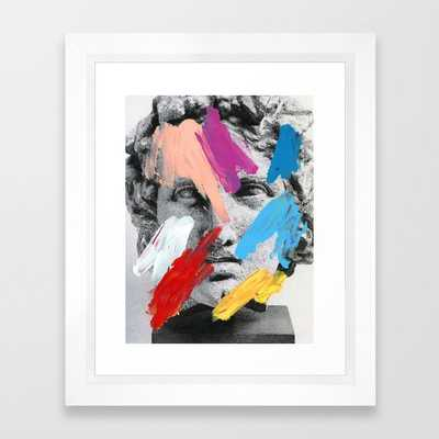 Composition 702 Framed Art Print - Society6