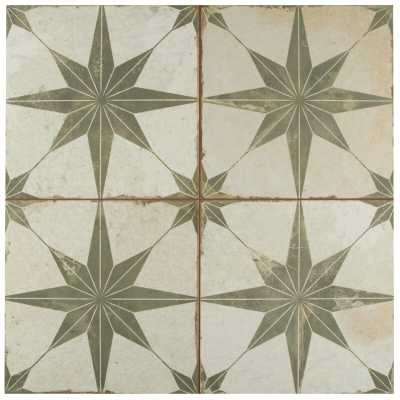 "Royalty Galactic 18"" x 18"" Ceramic Field Tile - Wayfair"