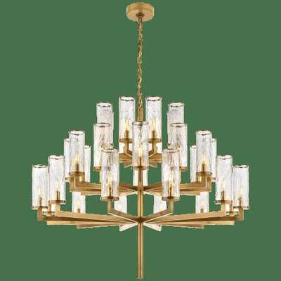 Liaison Triple Tier Chandelier - Circa Lighting